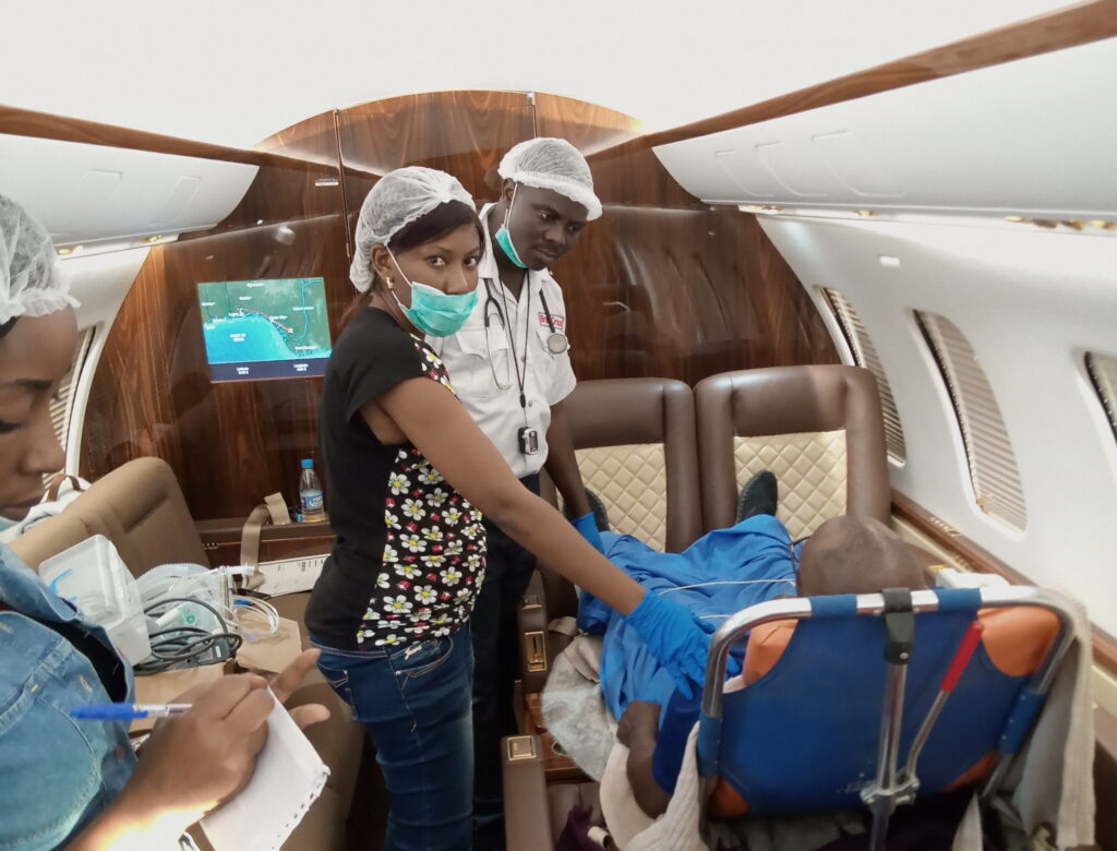 air ambulance service in lagos nigeria